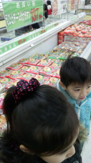 食料品の買出し(^-^)