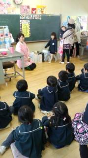 幼稚園の発表会と参観